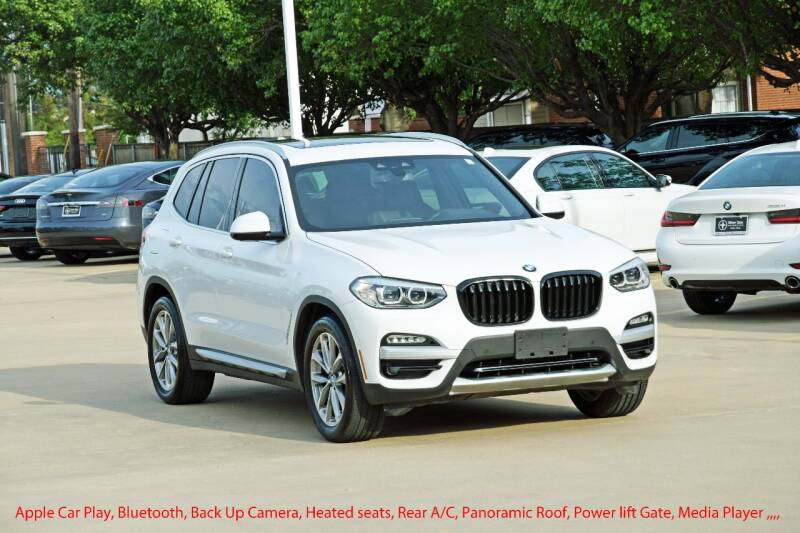 2019 BMW X3 for sale at Silver Star Motorcars in Dallas TX