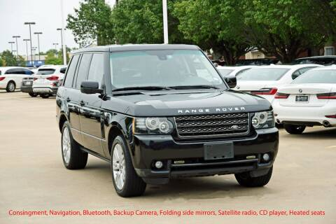 2012 Land Rover Range Rover for sale at Silver Star Motorcars in Dallas TX