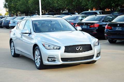 2016 Infiniti Q50 for sale in Dallas, TX
