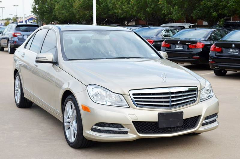 2012 Mercedes Benz C Class For Sale At Silver Star Motorcars In Dallas TX