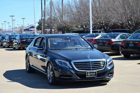 2015 Mercedes-Benz S-Class for sale in Dallas, TX