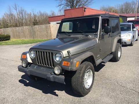 2006 Jeep Wrangler for sale in Murphysboro, IL