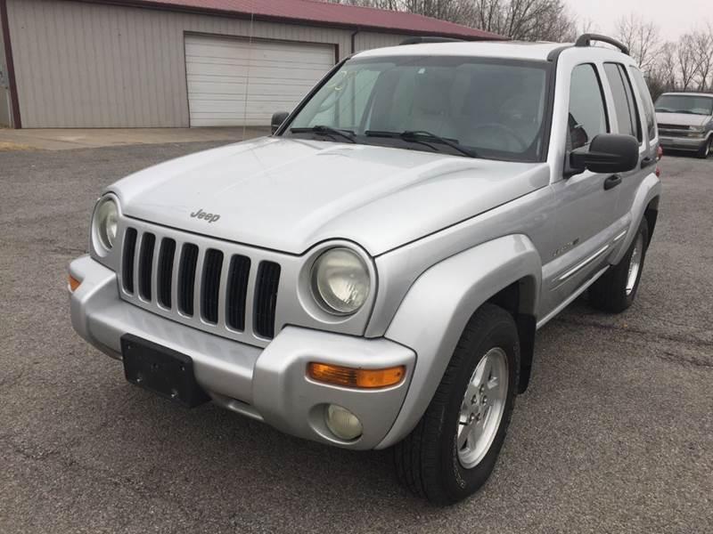 2003 Jeep Liberty Limited 4WD 4dr SUV   Murphysboro IL