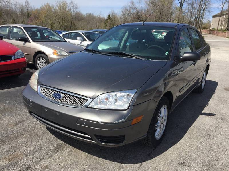 2007 ford focus zx4 s 4dr sedan in murphysboro il best. Black Bedroom Furniture Sets. Home Design Ideas