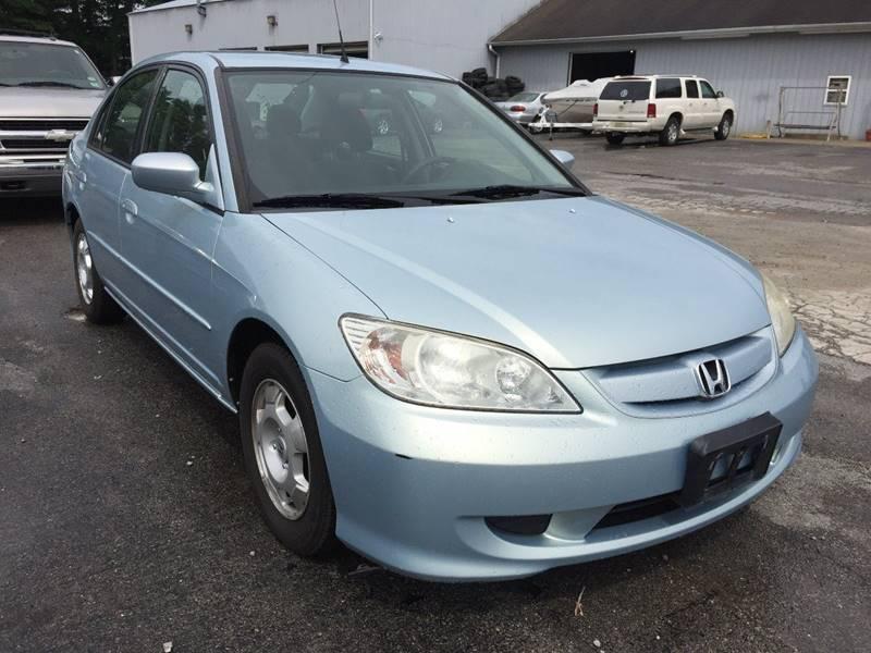 2004 Honda Civic Hybrid 4dr Sedan In Murphysboro Il Best Buy Auto