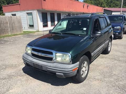 2003 Chevrolet Tracker for sale in Murphysboro, IL