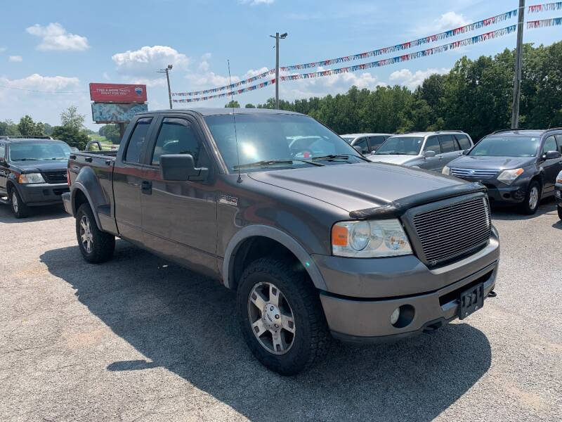2007 Ford F-150 FX4 4dr SuperCab 4WD Flareside 6.5 ft. SB - Murphysboro IL