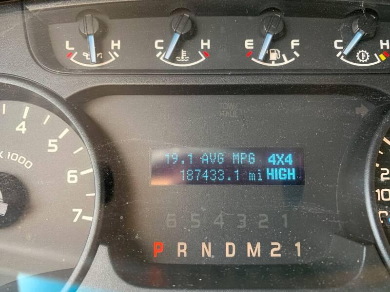 2012 Ford F-150 4x4 XL 4dr SuperCab Styleside 6.5 ft. SB - Murphysboro IL
