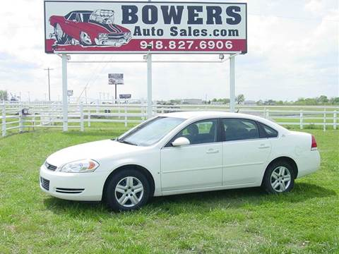 2008 Chevrolet Impala for sale in Mounds, OK