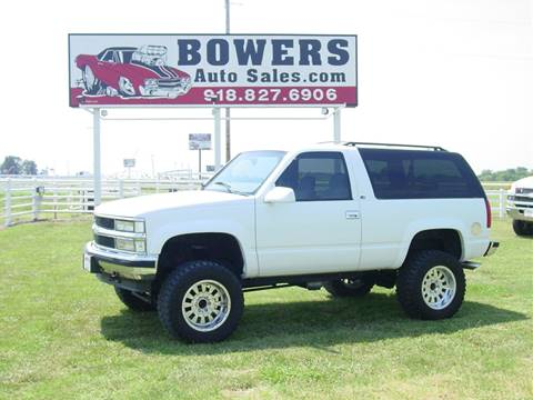 1998 Chevrolet Tahoe for sale in Mounds, OK