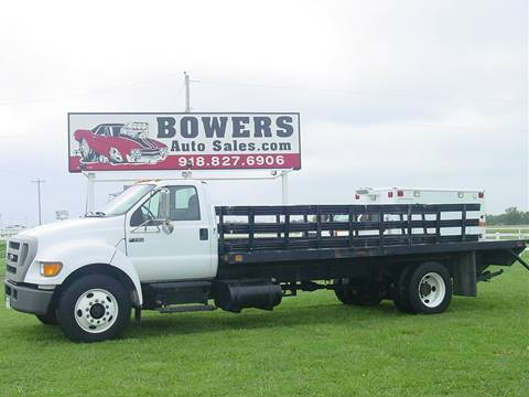 2005 Ford F-750 for sale in Mounds, OK