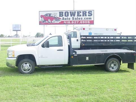 2008 Chevrolet Silverado 3500HD CC for sale in Mounds OK