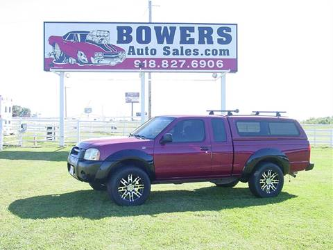 2002 Nissan Frontier for sale in Mounds, OK