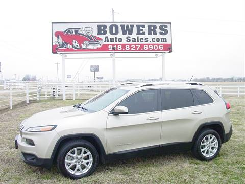 2014 Jeep Cherokee for sale in Mounds, OK