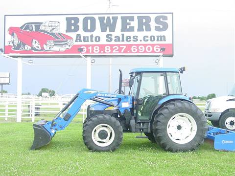 2008 New Holland TD95D for sale in Mounds, OK