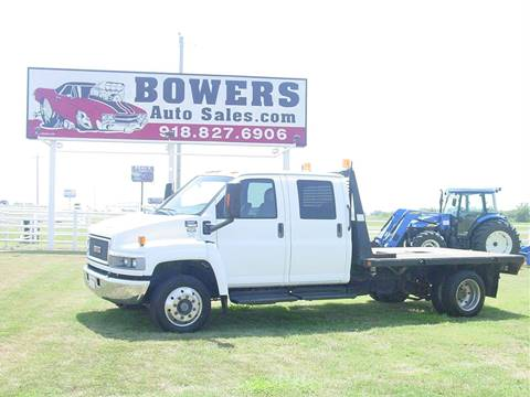 2006 GMC C5500 for sale in Mounds, OK