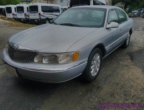 1999 Lincoln Continental for sale in Pittsfield, MA