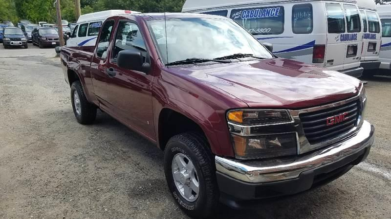 2007 gmc canyon sle 4dr extended cab 4wd sb in pittsfield ma vehicle options publicscrutiny Image collections