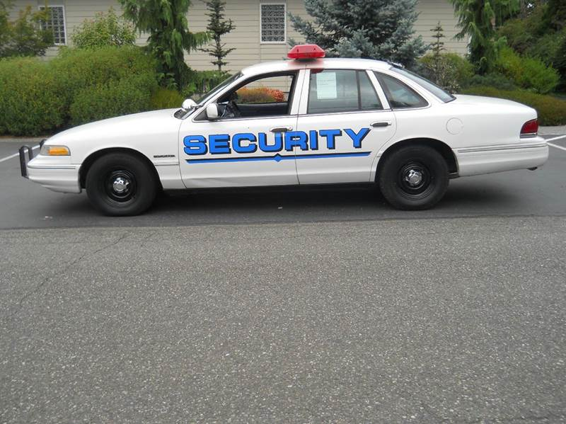 1995 Ford Crown Victoria Police Taxi In Bremerton Wa Signature