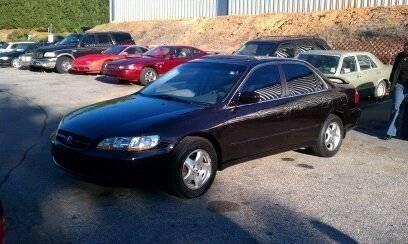 1998 Honda Accord Ex V6 4dr Sedan In Warrior Al Empire Auto Sales