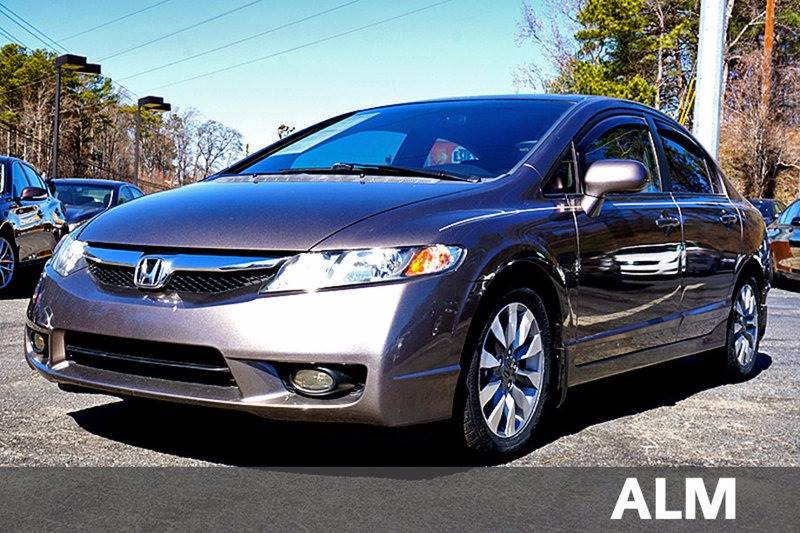 2009 honda civic ex l 4dr sedan 5a in warrior al empire auto sales. Black Bedroom Furniture Sets. Home Design Ideas