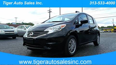 2015 Nissan Versa Note for sale at TIGER AUTO SALES INC in Redford MI