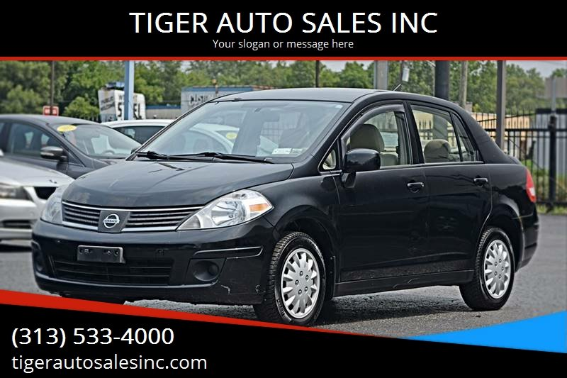 2009 Nissan Versa 1 8 S 4dr Sedan 6m In Redford Mi Tiger