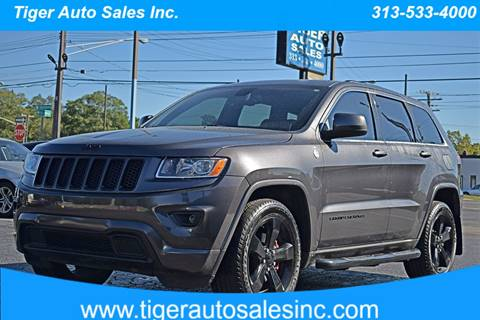 2015 Jeep Grand Cherokee for sale at TIGER AUTO SALES INC in Redford MI