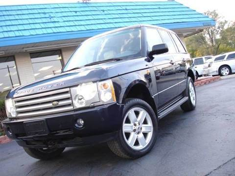 2004 Land Rover Range Rover for sale at TIGER AUTO SALES INC in Redford MI