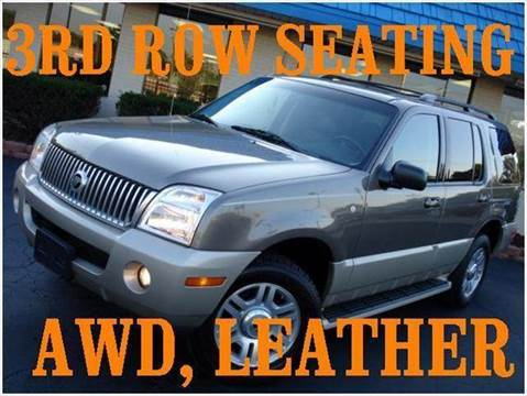 2004 Mercury Mountaineer for sale at TIGER AUTO SALES INC in Redford MI