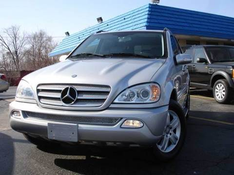 2005 Mercedes-Benz M-Class for sale at TIGER AUTO SALES INC in Redford MI