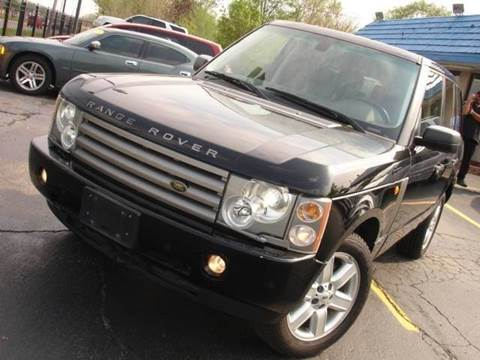 2005 Land Rover Range Rover for sale at TIGER AUTO SALES INC in Redford MI