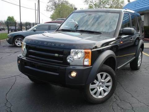 2006 Land Rover LR3 for sale at TIGER AUTO SALES INC in Redford MI