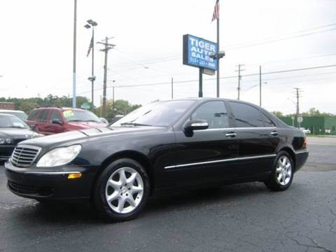2006 Mercedes-Benz S-Class for sale at TIGER AUTO SALES INC in Redford MI