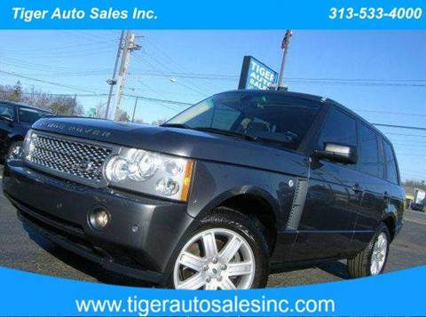 2006 Land Rover Range Rover for sale at TIGER AUTO SALES INC in Redford MI