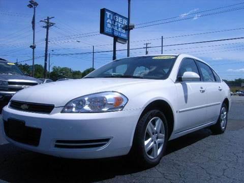 2008 Chevrolet Impala for sale at TIGER AUTO SALES INC in Redford MI