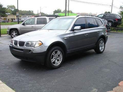 2005 BMW X3 for sale at TIGER AUTO SALES INC in Redford MI
