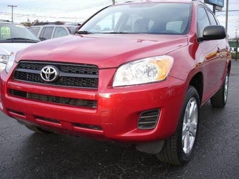 2012 Toyota RAV4 for sale at TIGER AUTO SALES INC in Redford MI