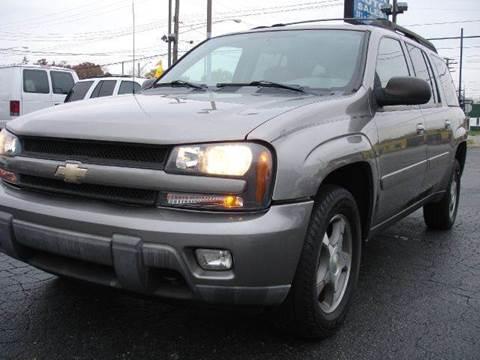 2005 Chevrolet TrailBlazer EXT for sale at TIGER AUTO SALES INC in Redford MI