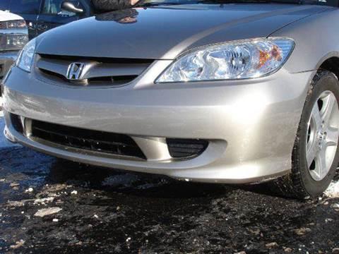 2005 Honda Civic for sale at TIGER AUTO SALES INC in Redford MI