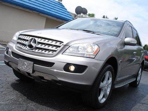 2007 Mercedes-Benz M-Class for sale at TIGER AUTO SALES INC in Redford MI