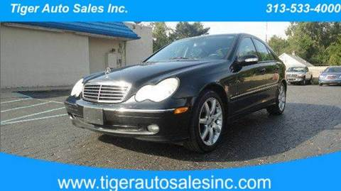 2003 Mercedes-Benz C-Class for sale at TIGER AUTO SALES INC in Redford MI