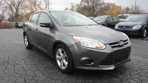 2013 Ford Focus for sale at TIGER AUTO SALES INC in Redford MI