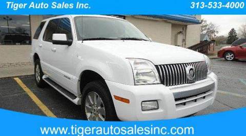2007 Mercury Mountaineer for sale at TIGER AUTO SALES INC in Redford MI