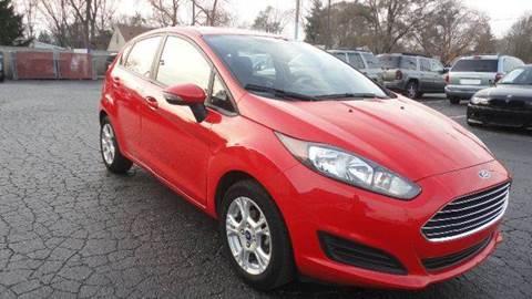 2014 Ford Fiesta for sale at TIGER AUTO SALES INC in Redford MI