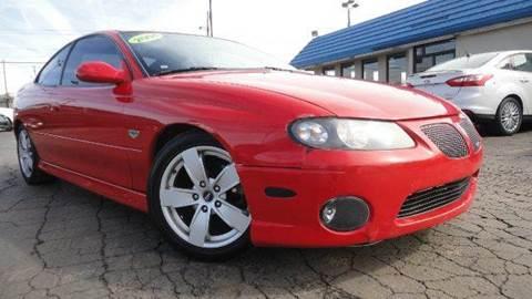 2004 Pontiac GTO for sale at TIGER AUTO SALES INC in Redford MI