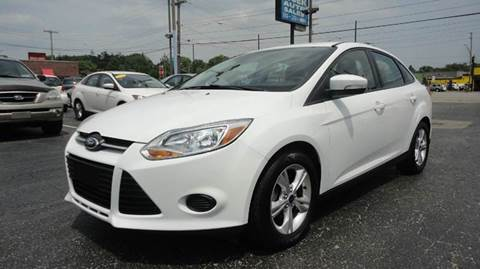 2014 Ford Focus for sale at TIGER AUTO SALES INC in Redford MI