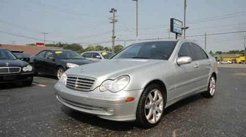 2007 Mercedes-Benz C-Class for sale at TIGER AUTO SALES INC in Redford MI