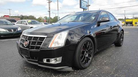 2008 Cadillac CTS for sale at TIGER AUTO SALES INC in Redford MI