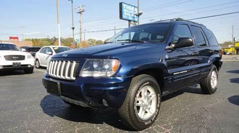 2004 Jeep Grand Cherokee for sale at TIGER AUTO SALES INC in Redford MI